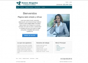 Demo Abogados Simple para seo
