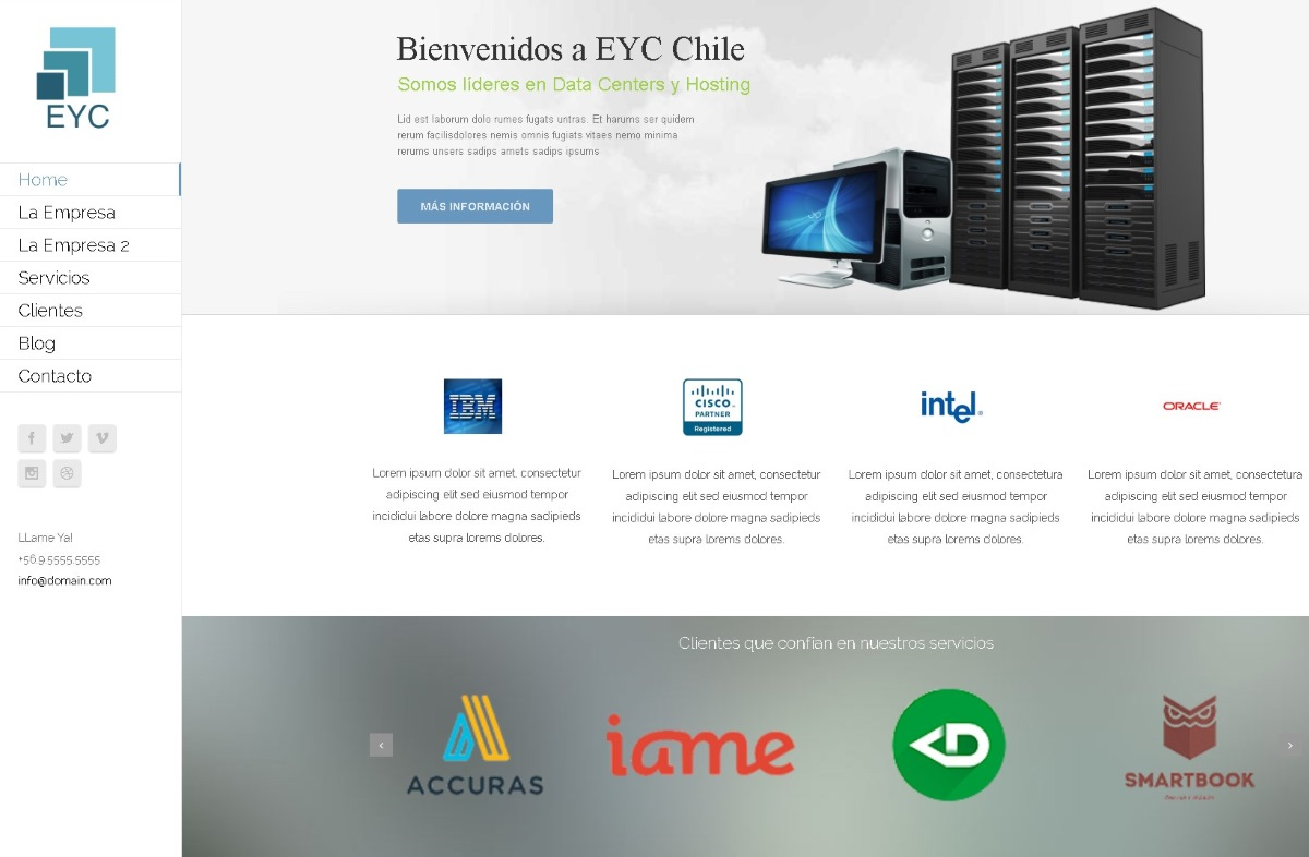 Demo for EYC Chile para seo